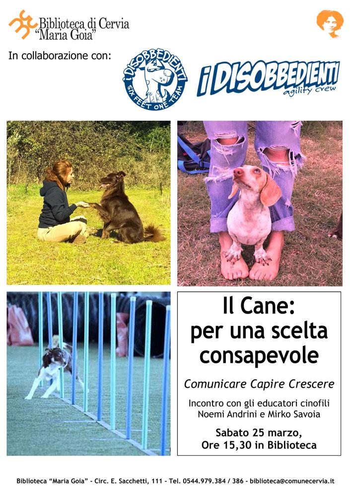 25 marzo 17 il cane per una scelta consapevole