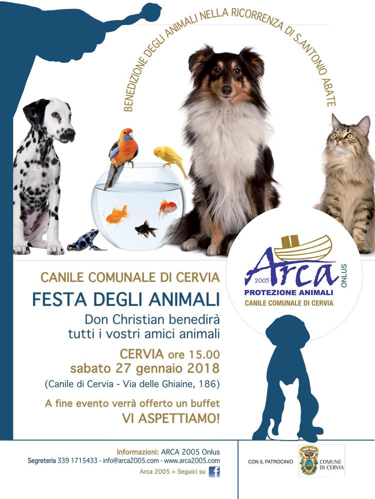 Benedizione Animali 2018 Canile di Cervia