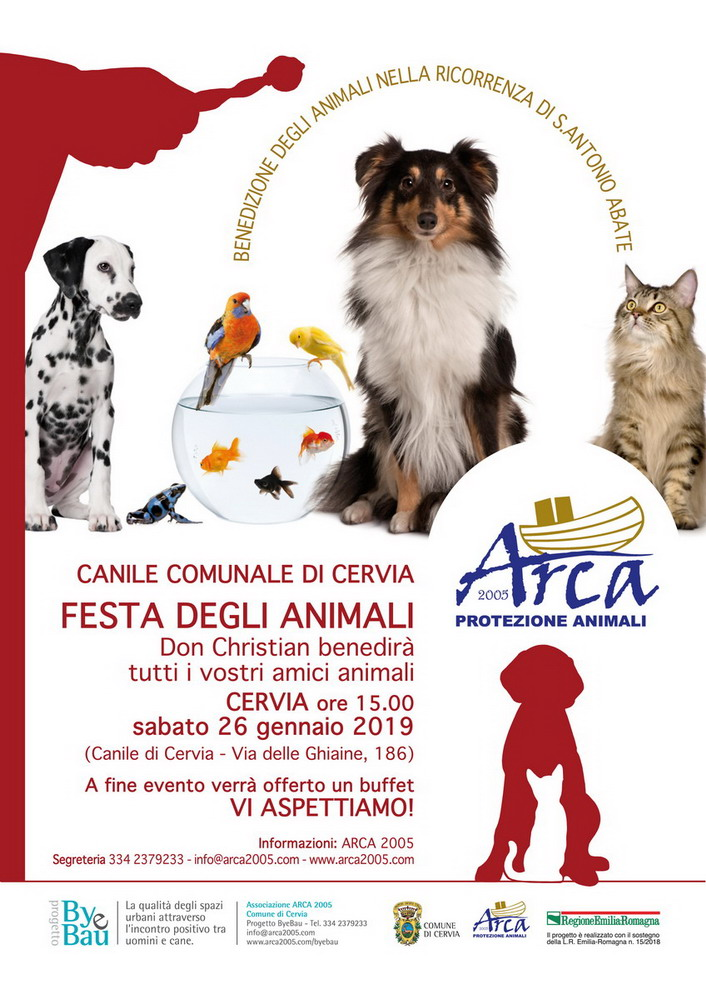 Benedizione Animali 2019 Canile di Cervia